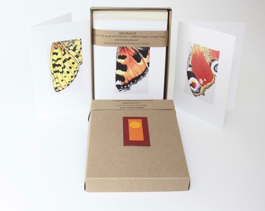New – Abstract Butterfly cards